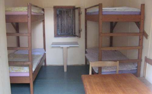 Clean cottages with bedding included