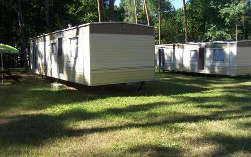 Autocamping Hluboký - mobilní domy