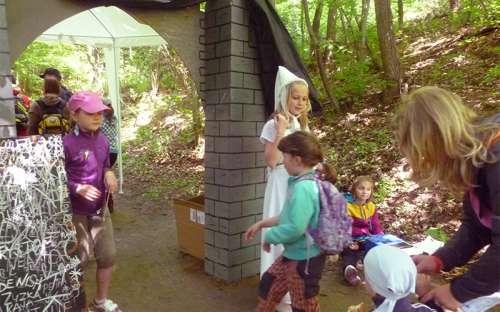 Rekreační areál a kemp Kamínka - akce pro děti