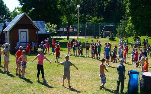 Area ricreativa e campo Kamínka - campi estivi