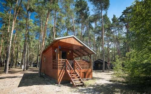 Obóz Klůček - chaty