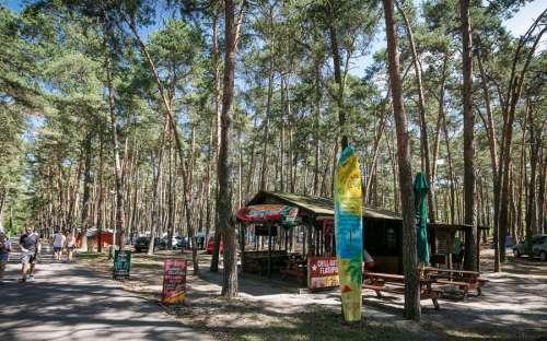 Camp Klůček - pub
