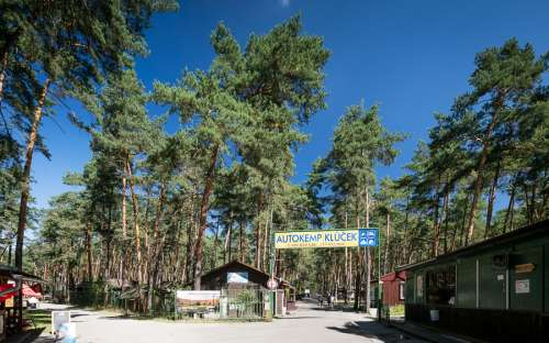Obóz Klůček - areal