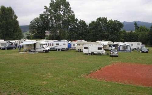 Kemp Losinka - karavany