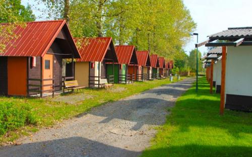 Camping Křivonoska - hytter