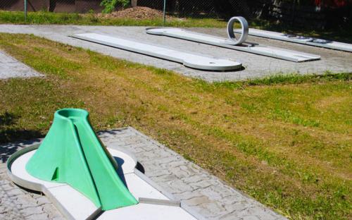 Camping Křivonoska - minigolf