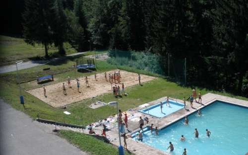 Camping, cottages, hotel Kyčera - swimming pool, bathing
