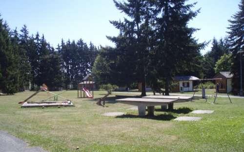 Kemp La Rocca - dětské hřiště