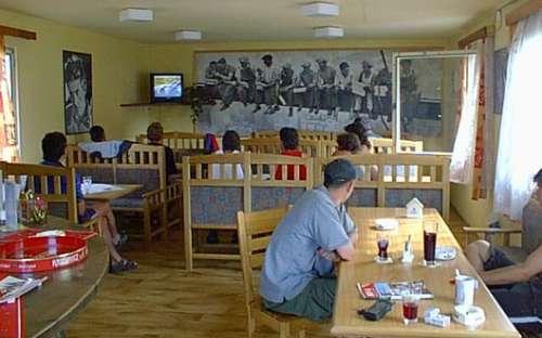 Camp La Rocca - catering, café
