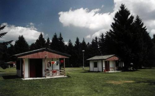 Kemp La Rocca - 3 lůžková chatka