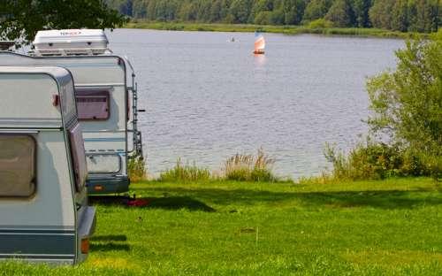 Kemp Lipno - karavany