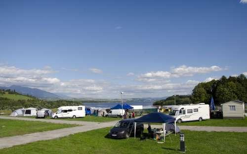 Camping Liptov - caravans