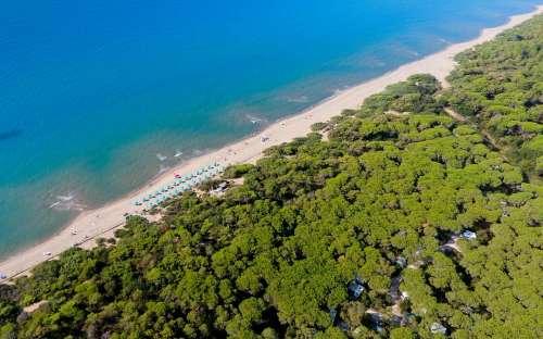 Kemp Maremma - pláž