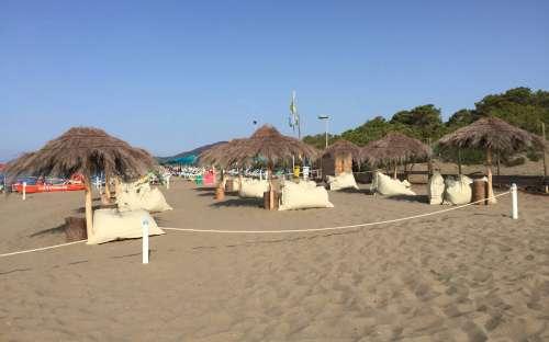 Kemp Maremma - soukromá pláž