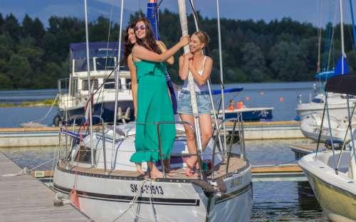 Camping Marina Liptov - bateaux
