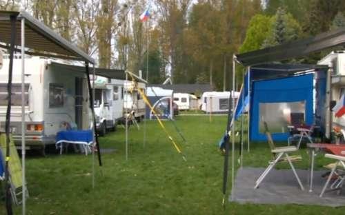 Kemp Morava - stany, karavany
