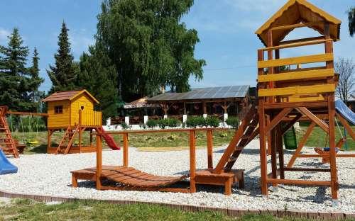 Camping Nitrianske Rudno - dětské hřiště