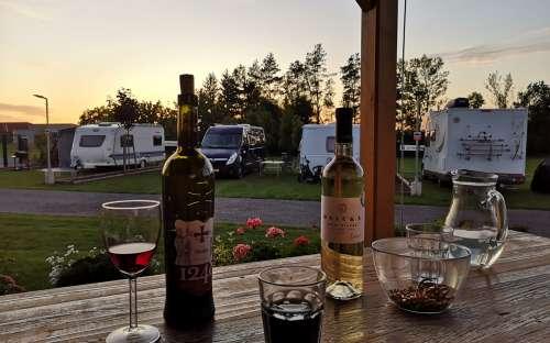 Resort Radslavice - cottage sulla terrazza