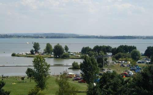 Camp Rozkoš - barrage