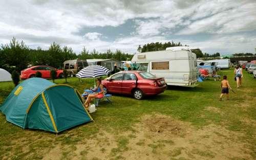 Camping Šiklův mlýn - caravans, tents