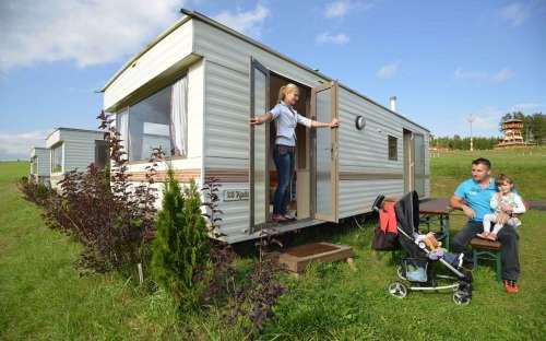 Kemp Šiklův mlýn - mobilní domy