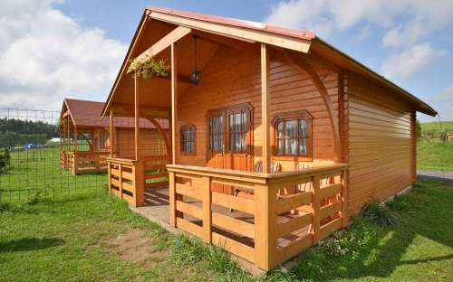 Camp Šiklův mlýn - cabanes en rondins