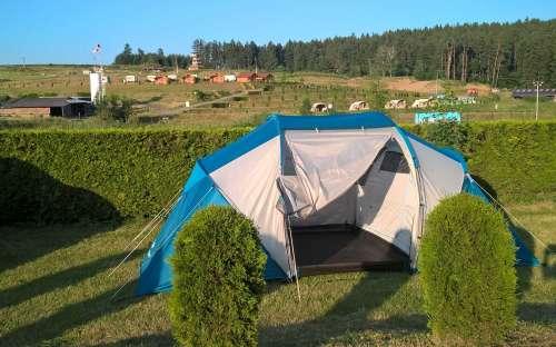 Camp Šiklův mlýn - tents