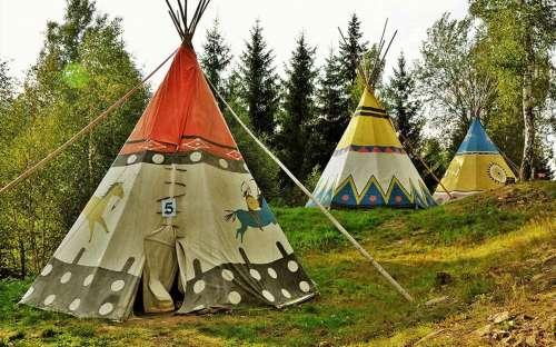 Camp Šiklův mlýn - tipi