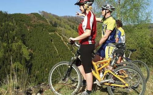 Kemp Slnečné skaly - cyklistika