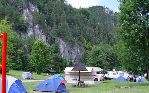 Kemp Slnečné skaly - stany a karavany