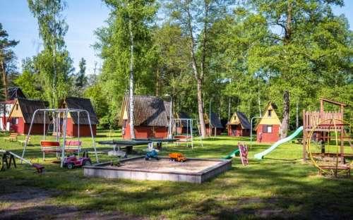 Campingplatz Sluníčko - Macha-See