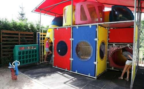 Camping Sokol Praga - kącik dla dzieci