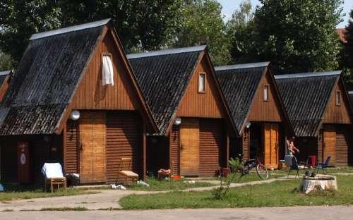 Camping Strážnice - casas de campo
