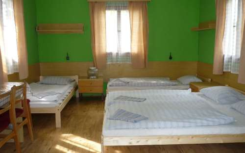Camping Straznice - cottage interieur