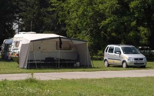 Kemp Strážnice - karavany