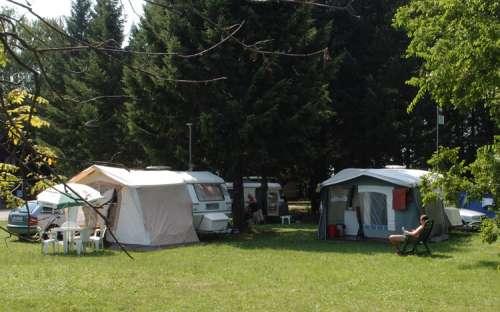 Camp Strážnice - caravans