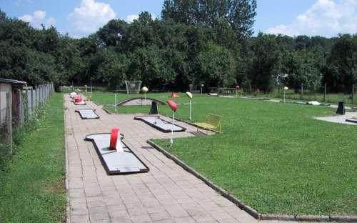 CampStrážnice - ミニゴルフ
