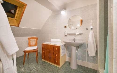 kemp a penzion u Mauritzů - kopuelna, wc