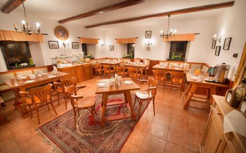kamp en pension u Mauritzů - restaurant