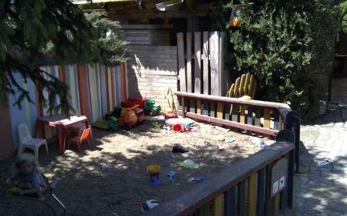 Kemp U Zápeců - dětské hřiště
