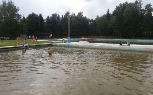 Camping Žandov - zwemmen