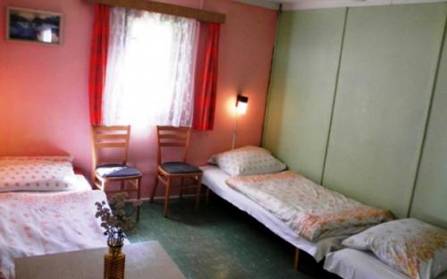 Kemp Žandov - chatky interiér