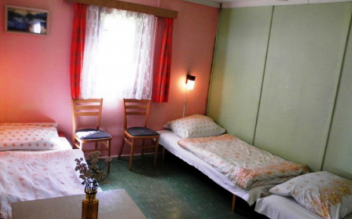 Camping Žandov - hutten interieur