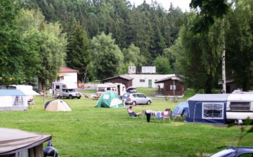 Kamp Žandov - kamperen