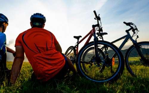 Kemp Železná Ruda - cyklistika