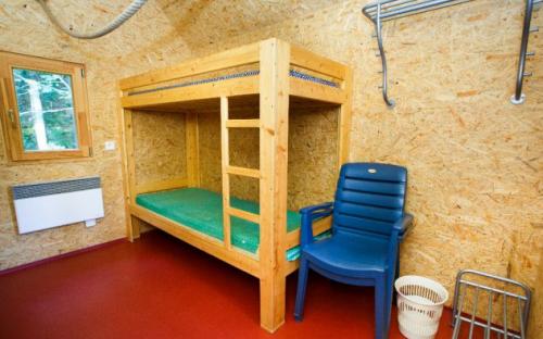 Kemp Železná Ruda - chatky interiér