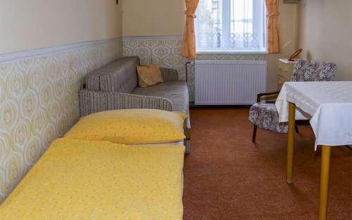 Jednolůžkové pokoje