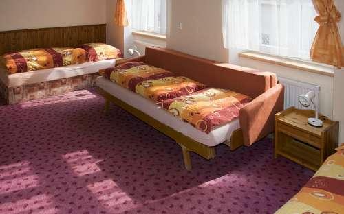 Dvoulůžkové apartmány