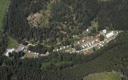 Kemp Karolina - letecký snímek