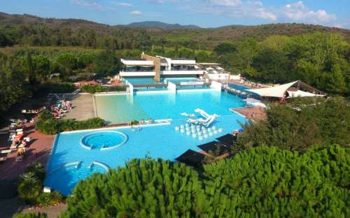 Camping Rocchette - Schwimmbad